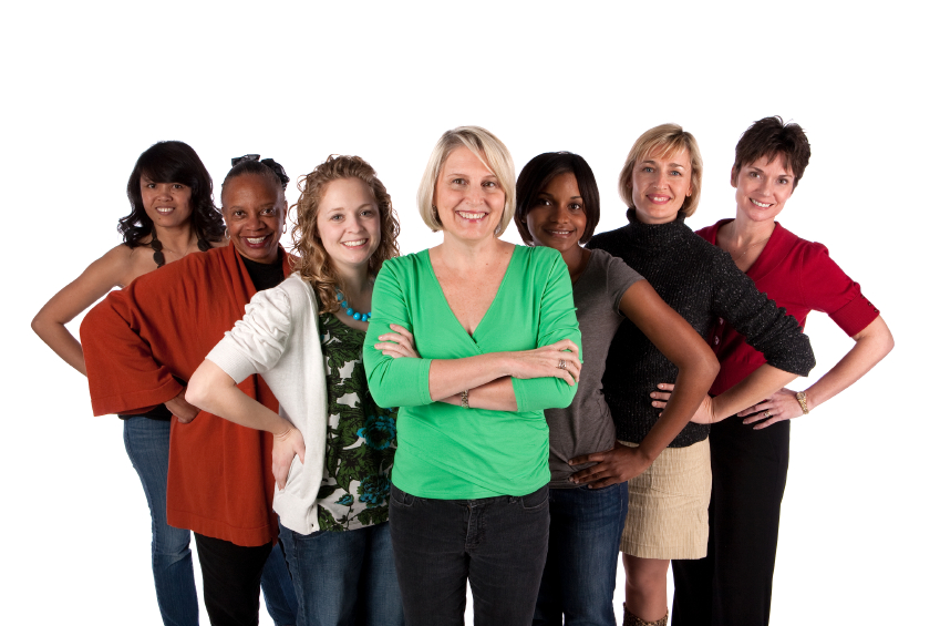 Group Of Woman 76